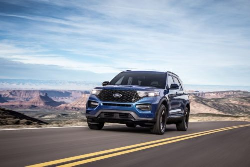 Ford May Be Turning the Explorer Into the Modern Muscle Car