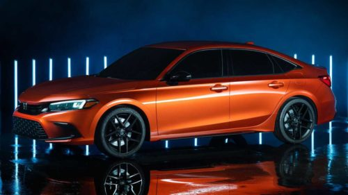 2022 Honda Civic Si Coming With Blazing Orange Pearl Color