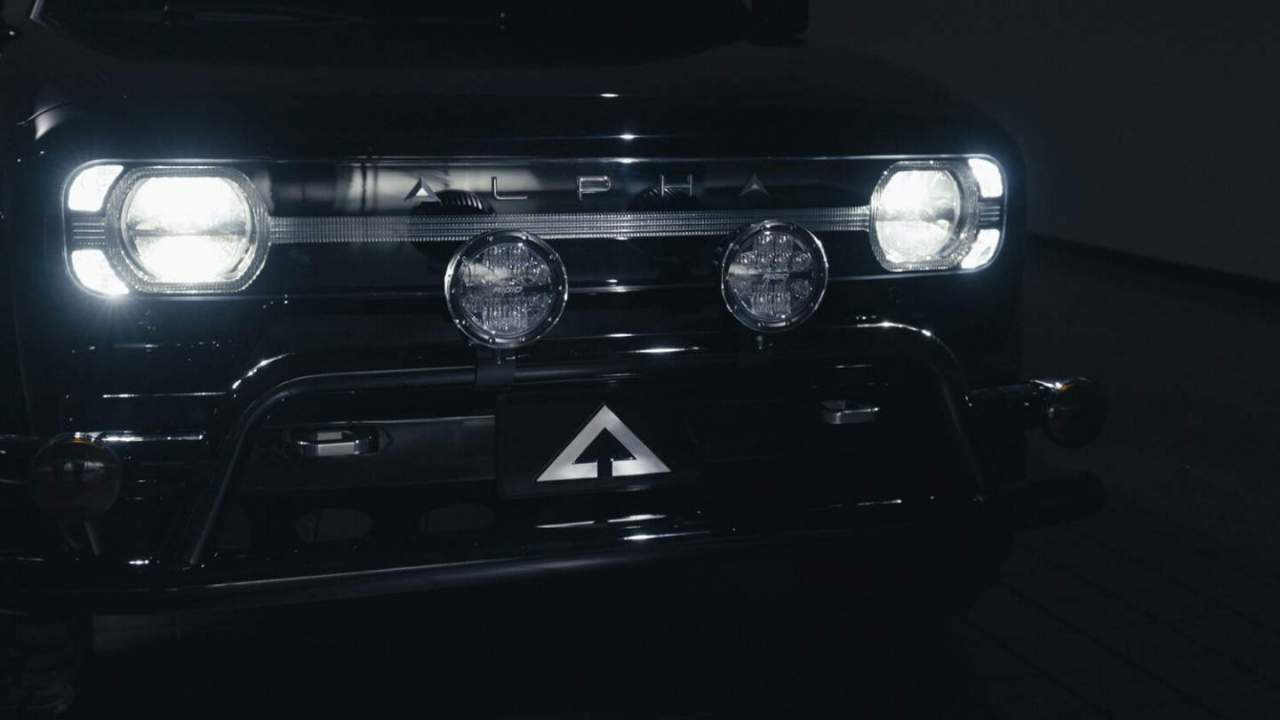 Alpha Wolf electric pickup truck