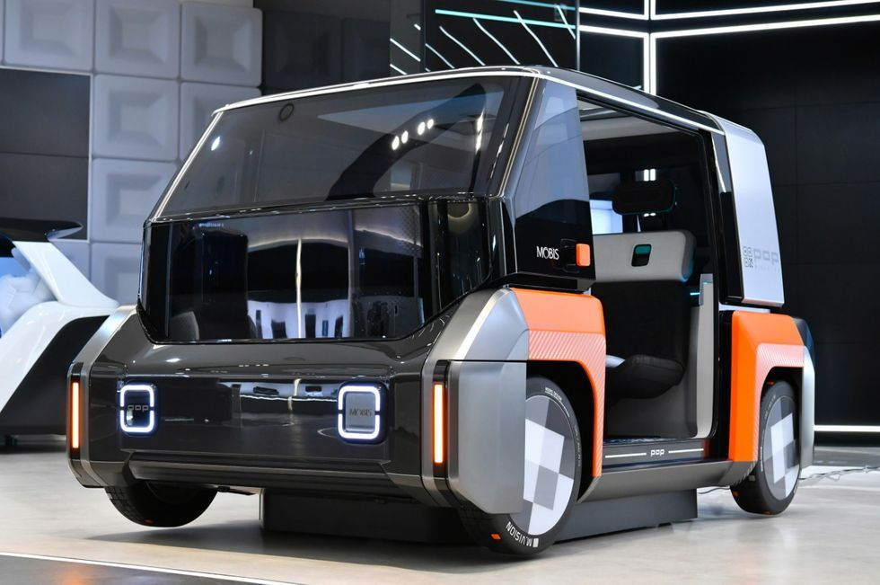 Hyundai Mobis M.Vision X Concept