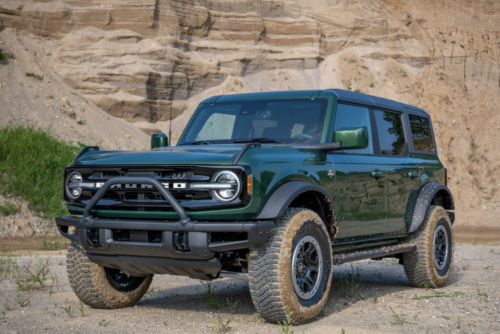 2022 Ford Bronco Adds New Colors: Deep Green, Orange, and Hot-Pepper Red