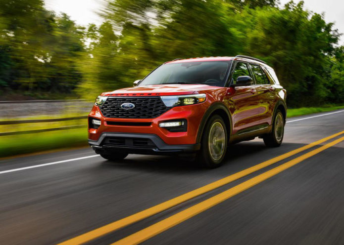 2022 Ford Explorer Lineup