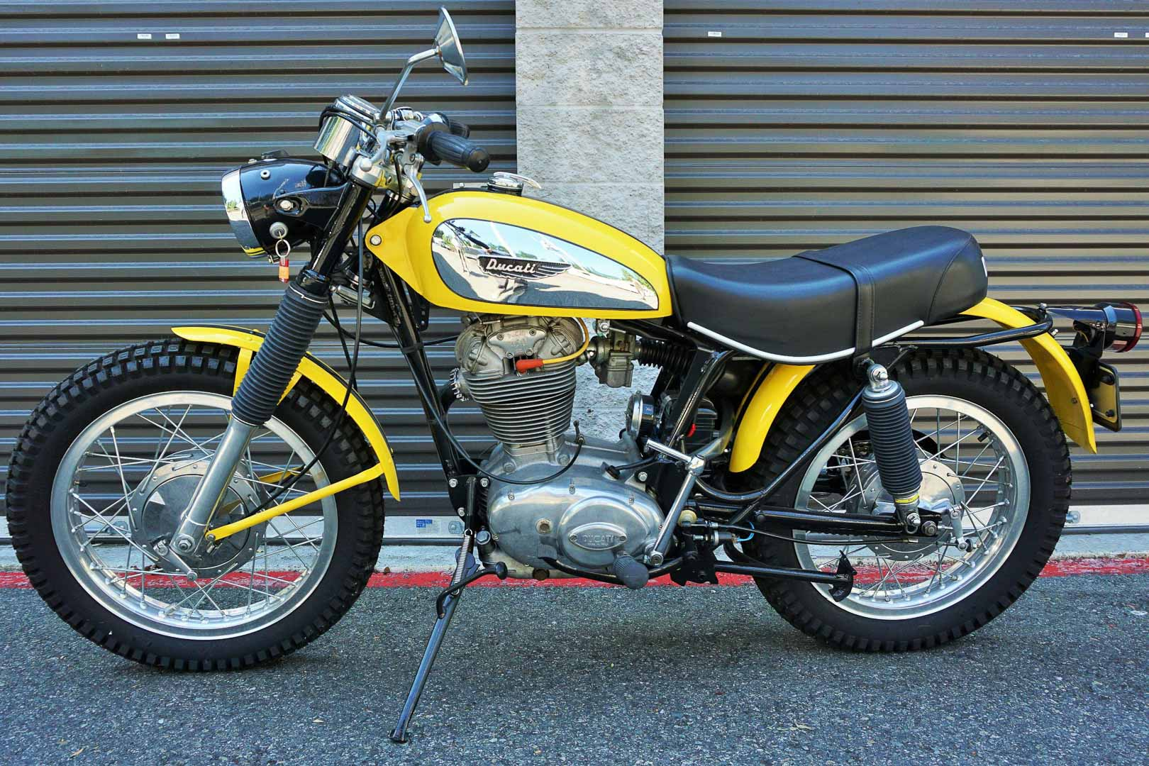 1970 Ducati Jupiter 450 Scrambler
