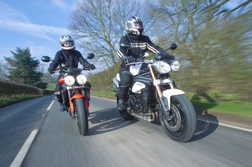 2011 Triumph Speed Triple and Street Triple R Review