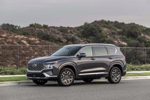 2021 Hyundai Santa Fe Hybrid review