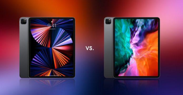 iPad Pro 12.9 (2021) vs iPad Pro 12.9 (2020)