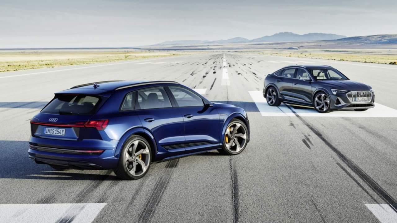2022 Audi e-tron S and e-tron S Sportback