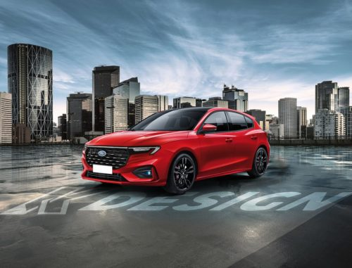 2022 Ford Focus Facelift Revealed With SYNC 4 And Mean Green ST