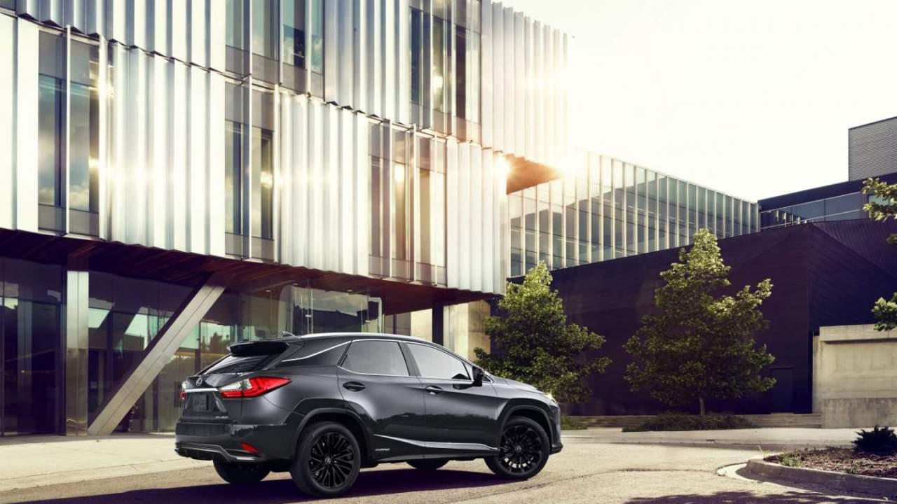 2022 Lexus RX 350 Black Line