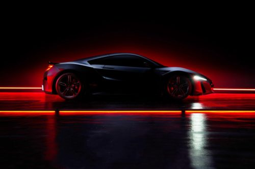 Acura NSX Type S Teased For The Last Time Ahead Of August 12 Debut