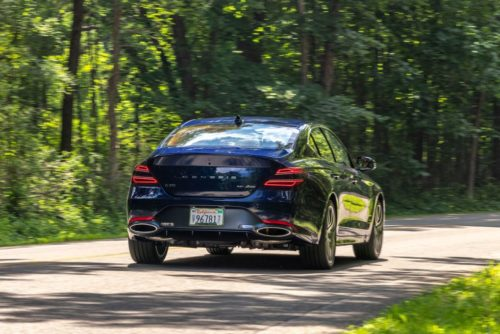 Tested: 2022 Genesis G70 3.3T Heats Up the Sports-Sedan Segment