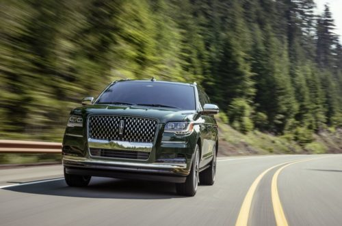 The Lincoln Navigator Is Going All New York for 2022