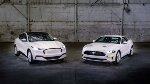 Mustang Ice White Edition Appearance Package is a Fox body throwback