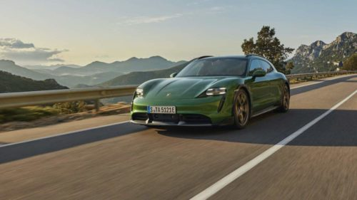 2022 Porsche Taycan Gets Flashy New Colors And Faster Charging
