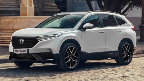 2023 Honda CR-V Spied Showing More Of Its Body