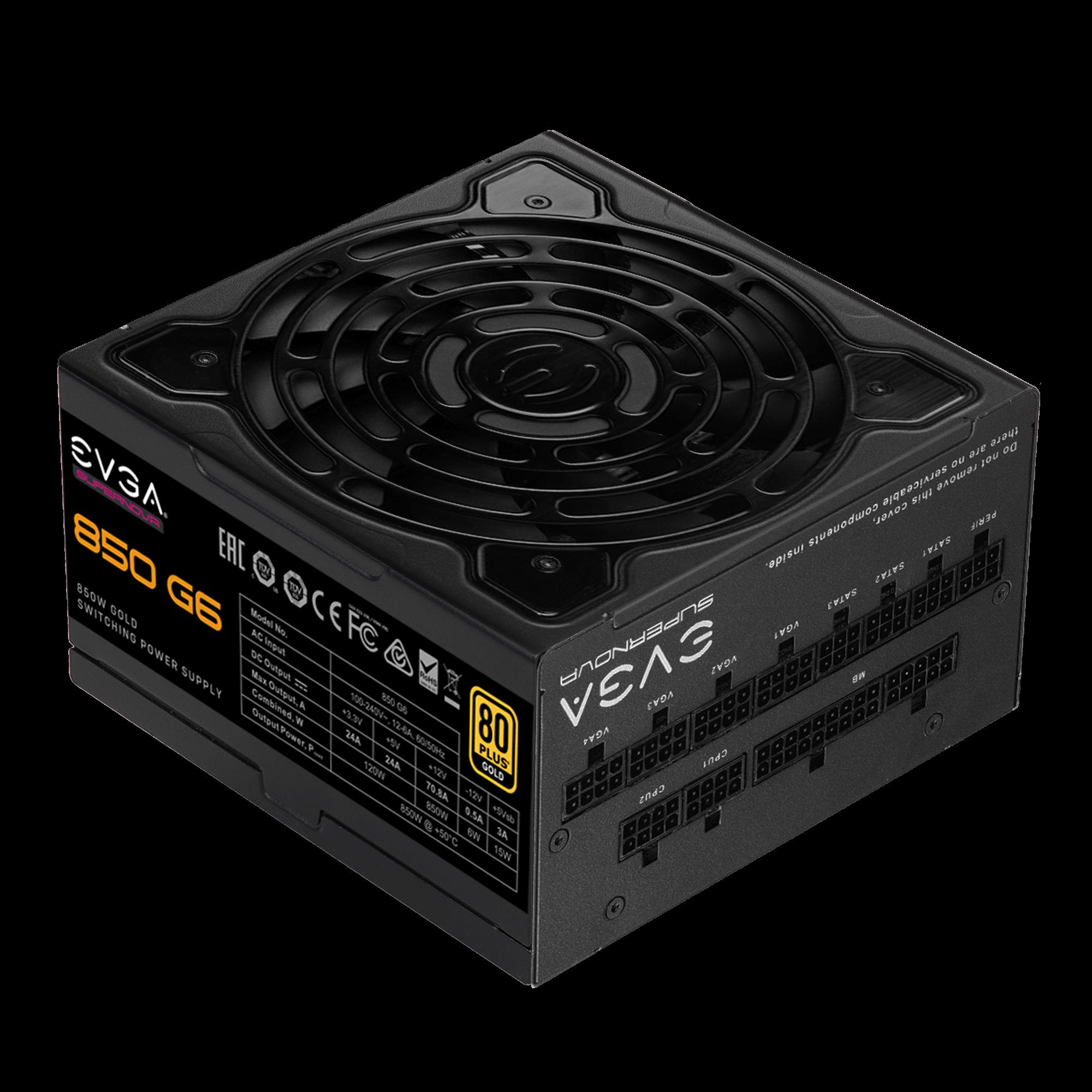 EVGA SuperNOVA 850 G6 Power Supply