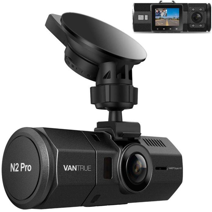 VanTrue N2 Pro Dual 1080p Dash Cam