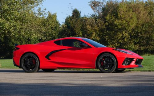 2023 Chevy Corvette Z06 Spied At The Nurburgring With Less Camo
