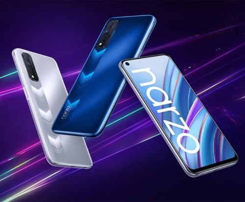 Realme Narzo 50A Press Renders Leaked Revealing Triple Rear Cameras, Dual Tone Design and More