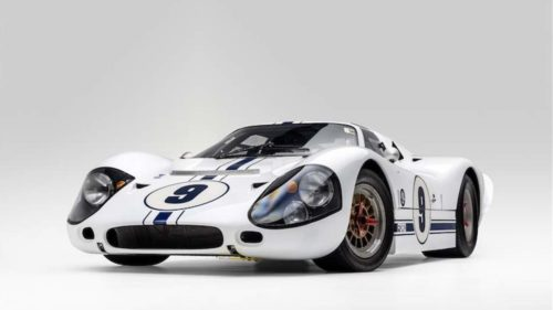 Incredibly rare 1967 Ford GT40 MK IV heads to auction