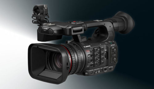 Canon XF605 UHD 4K HDR Pro Camcorder Announced