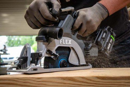 FLEX 24V 6 1/2-Inch Inline Circular Saw Review FX2131A-1C