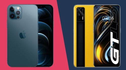 iPhone 12 Pro vs Realme GT: Apple's sportscar takes on Realme's muscle car
