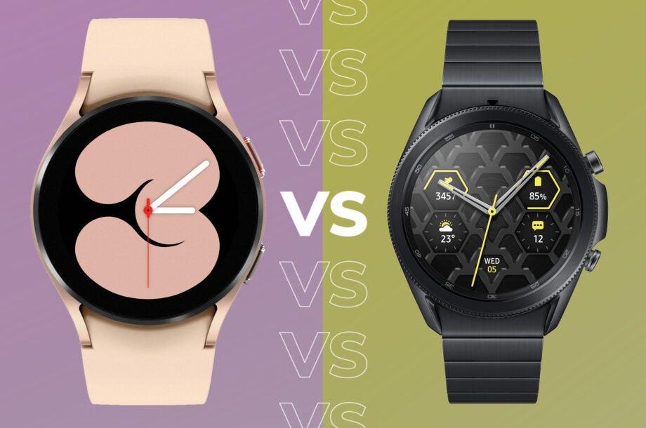 Galaxy Watch 4 vs Galaxy Watch 3