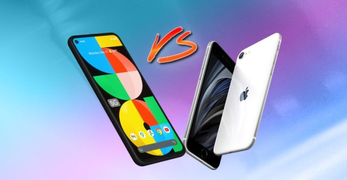 Google Pixel 5a vs. Apple iPhone SE