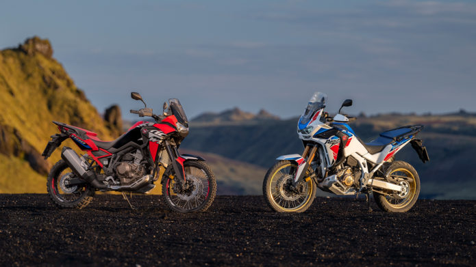 2022 Honda CRF1100L Africa Twin and Africa Twin Adventure Sports