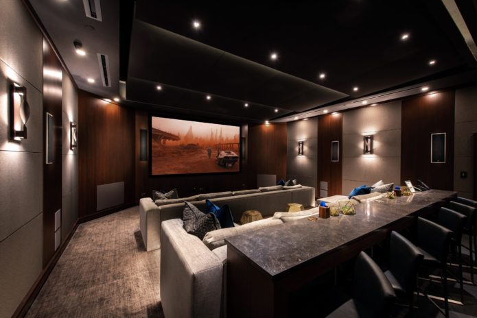 KEF Music Lounge Theater