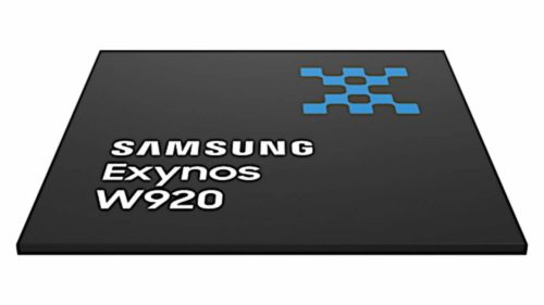Samsung Exynos W920 chipset for wearable devices officially launched