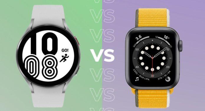 Samsung Galaxy Watch 4 vs Apple Watch 6
