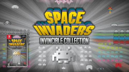 Space Invader Invincible Collection for Nintendo Switch now available at Datablitz