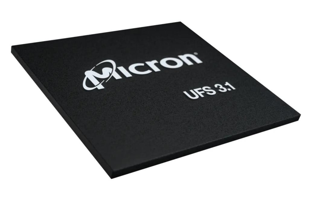 Micron new UFS 3.1 module
