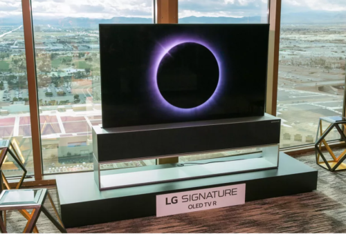 LG's Disappearing 4K OLED TV Is Finally Here