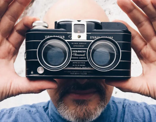 A Very Rare Viewmaster Personal Stereo Camera Is the Coolest Thing