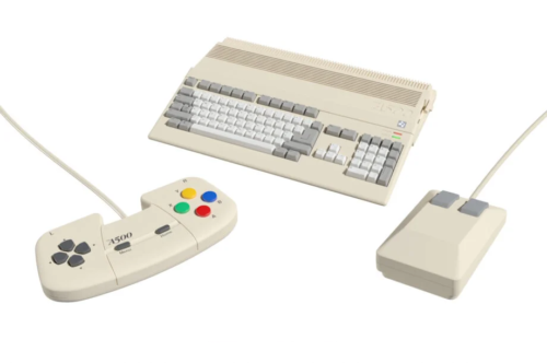 An Amiga 500 mini console is coming in 2022