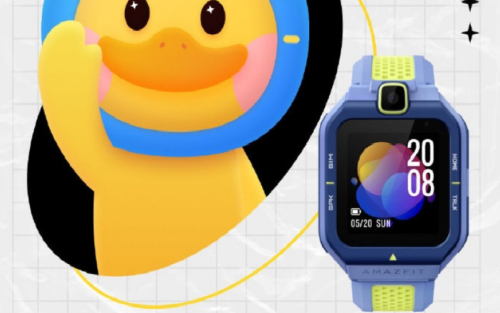 Amazfit Pop Pro is a sporty smartwatch aimed at kids