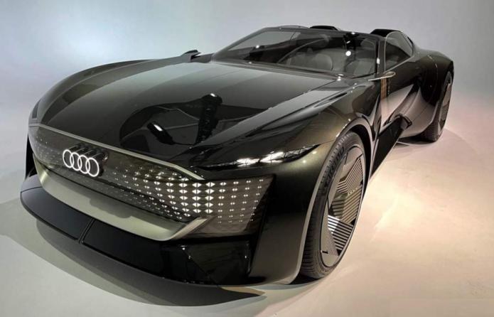 Audi skysphere concept EV