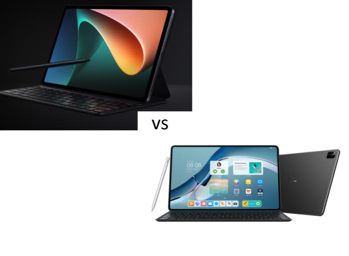 Xiaomi Mi Pad 5 Pro vs Huawei MatePad Pro 12.6
