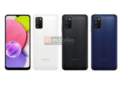 """Samsung Galaxy A03s unveiled with 6.5"""" HD+ screen and 5,000 mAh battery"""