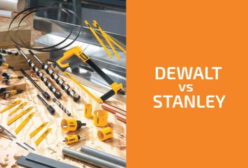 DeWalt vs. Stanley: Which Brand to Choose?