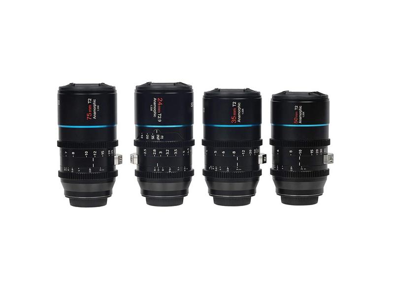 Sirui 1.33x anamorphic lenses