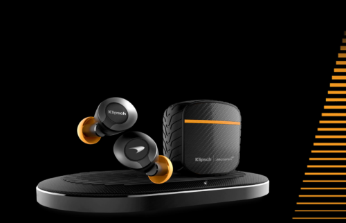 The latest TWS earbuds from Klipsch have ANC, wireless charging and a McLaren-branded special edition
