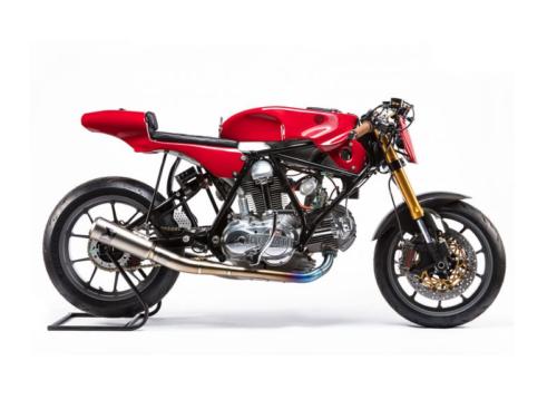 1974 Ducati 750 Sport by Woolie's Workshop: Oscar by Alpinestars Tribute