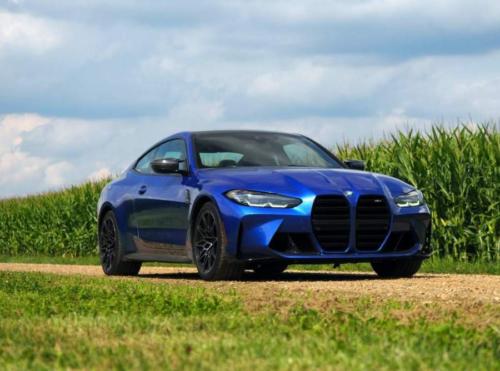 BMW M4 Looks Fresh Wearing Mint Green Paint And Bronze Wheels