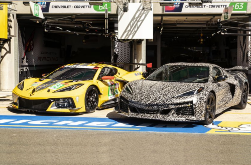 2023 Chevrolet Corvette joins the supercar party on October 26