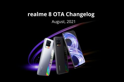 Realme 8 gets Dynamic RAM Expansion with new update, 8 Pro will get it too