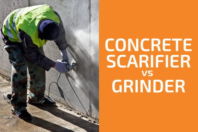 Concrete Scarifier vs. Grinder